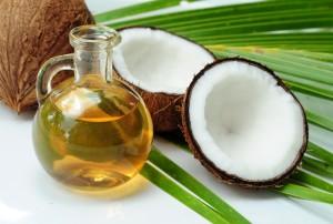 kokosolie, olie, haar, verzorging, droog, haar, beschadigd haar, masker, kokos
