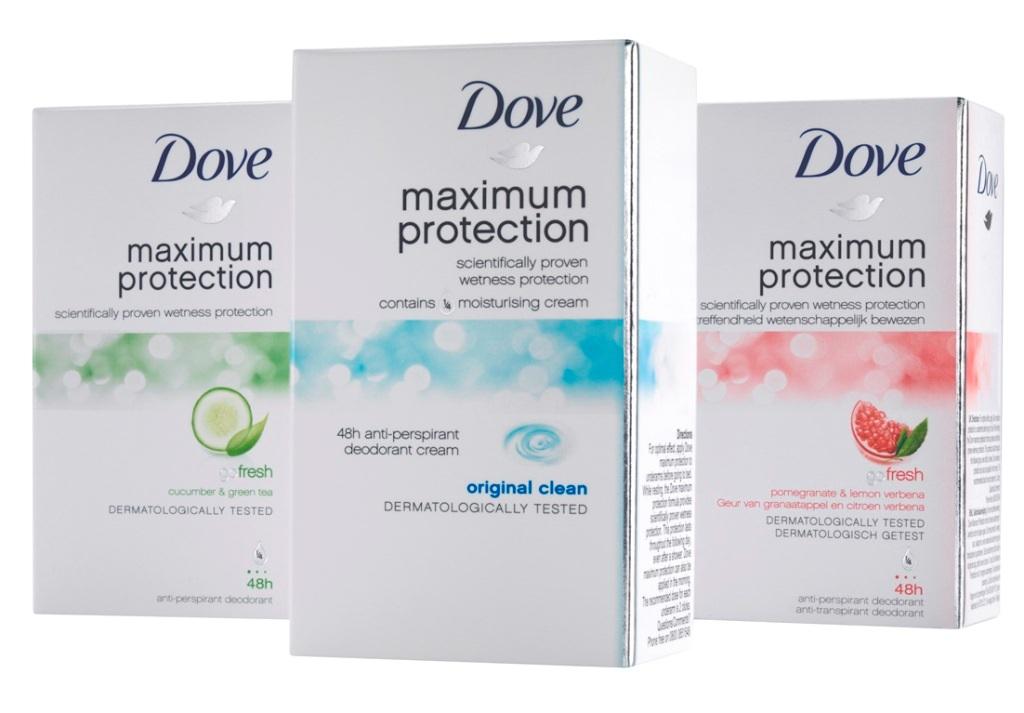 Review Dove Maximum Protection deodorant