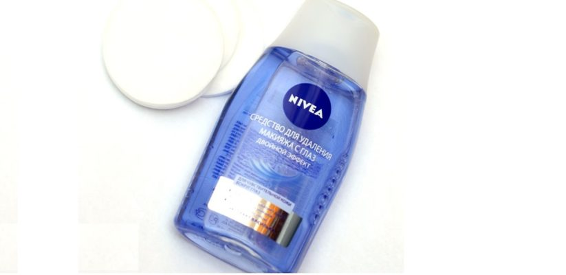 Nivea Double Effect Oogmake-Up Remover