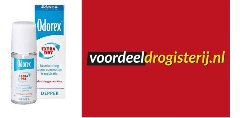 antiperspirant deo aanbieding odorex