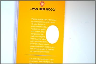 Review Dr. Van Der Hoog Gezichtsmasker Healing Honey