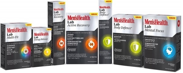 Mens Health Lab supplementen 2